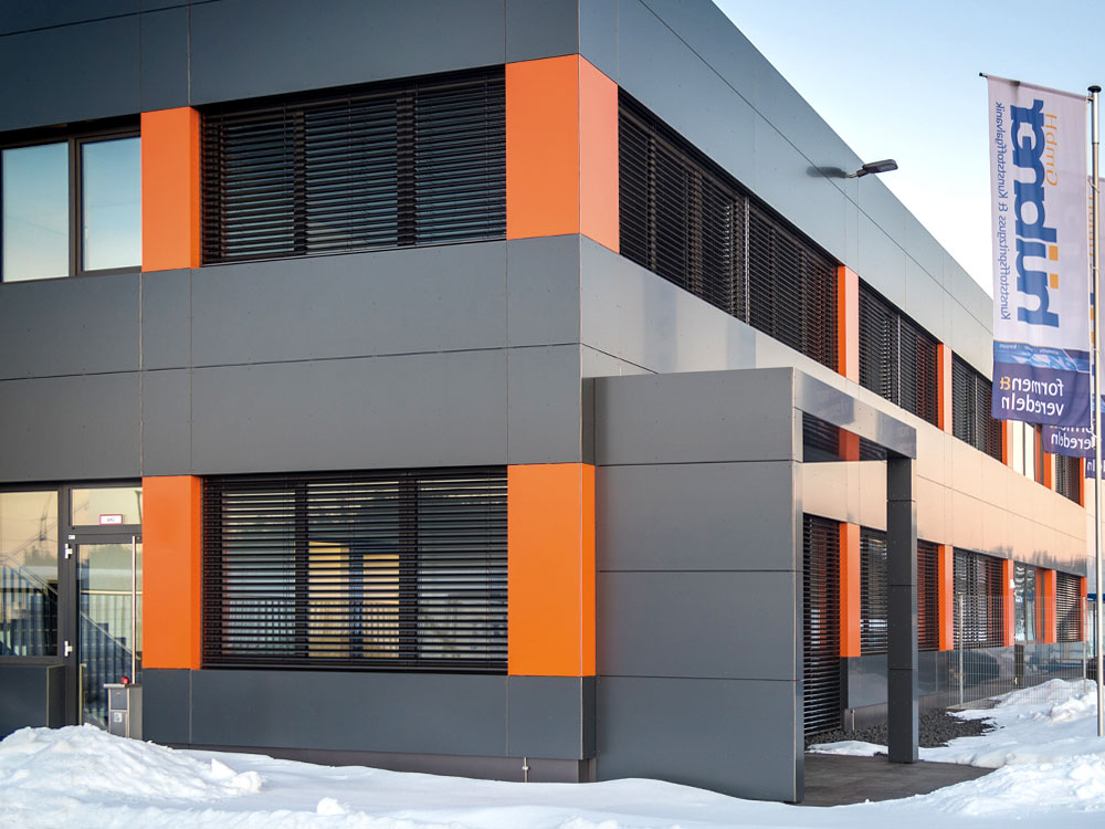 Bürobau - Hallenbau im Allgäu