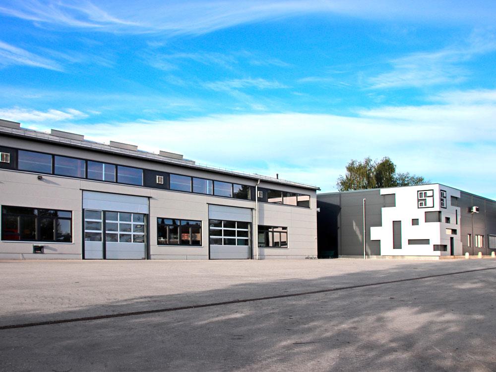 Hallenbau, Neubau im Allgäu