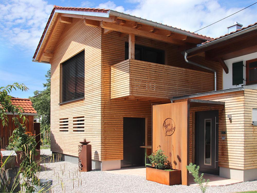 Holzhaus im Allgäu