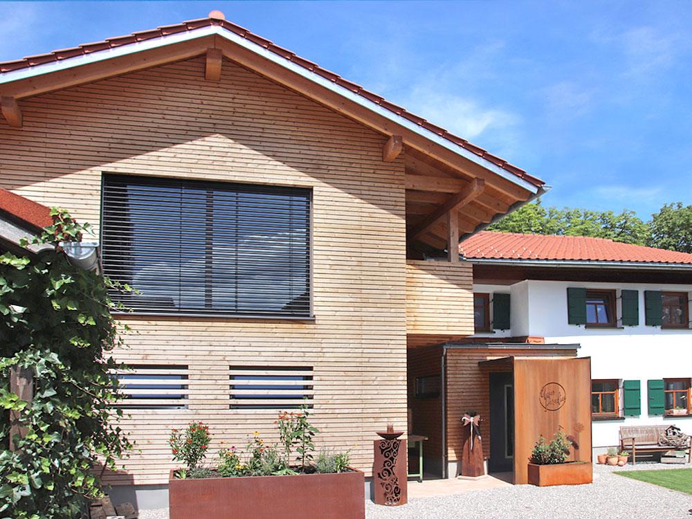 Neubau, Holzhaus