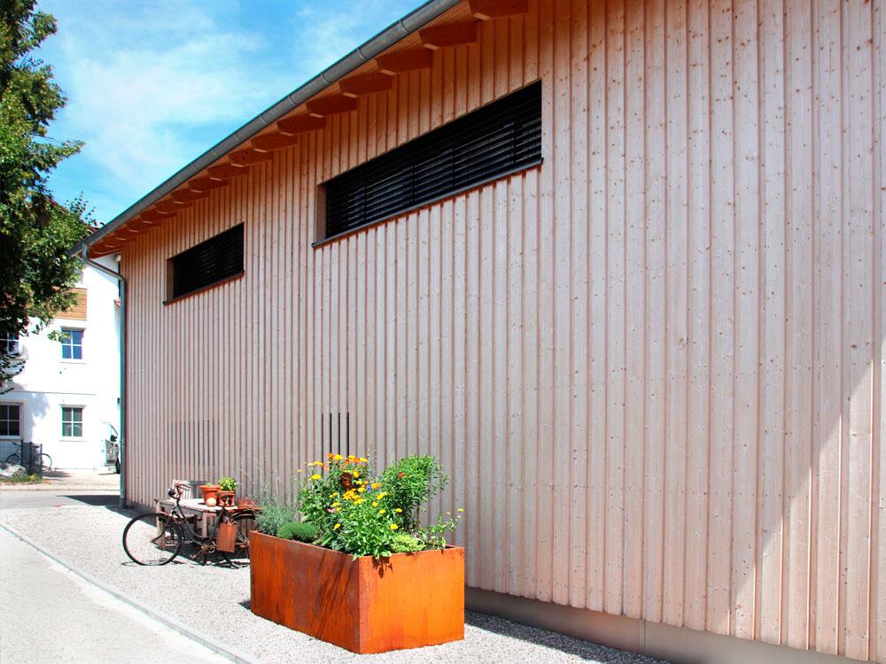 Holzhaus - Hausbau im Allgäu