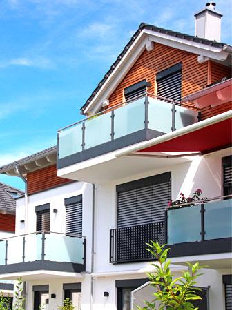 Wohnungsbau im Architekturbüro Angerer
