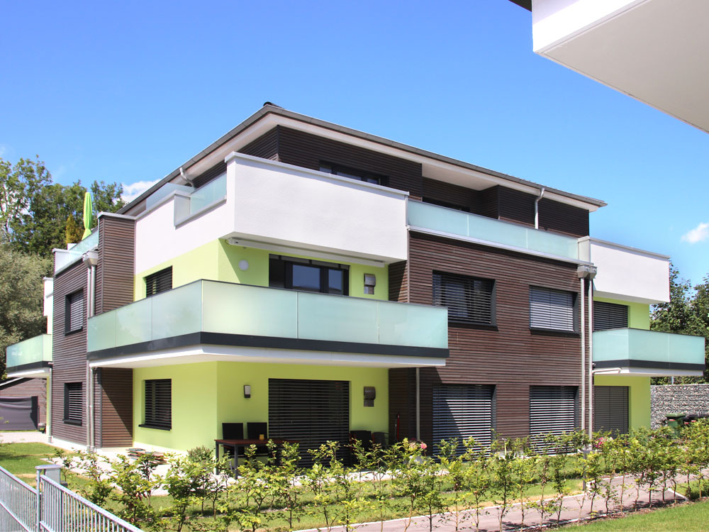 Wohnbebauung im Allgäu